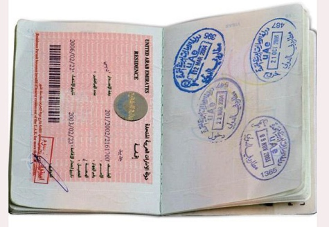 UAE work permit