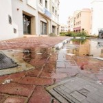 International City flooded in Sewage Water