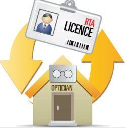 Dubai RTA License Optics Shop