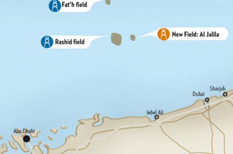 Al Jalila Oilfield Dubai