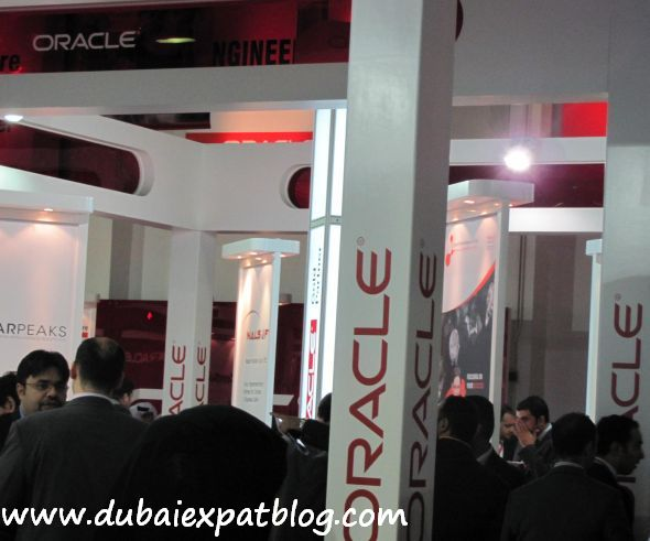oracle at Gitex 2011