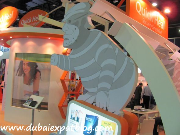 quick heal at Gitex 2011