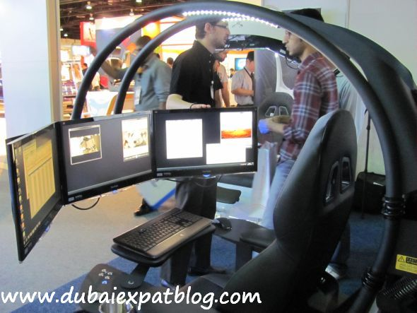 workstation demo at Gitex 2011