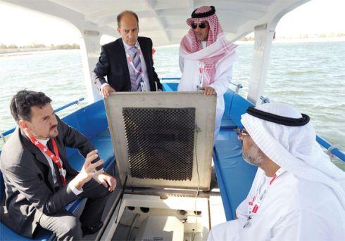 Grove Boats to provide solar power to Dubai Abras