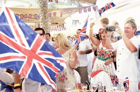British Expats in Dubai