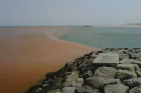 Jumeirah Beach sewage water discharge