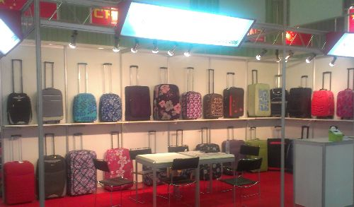 Bags and Suitcases at China Home Life Exhibition