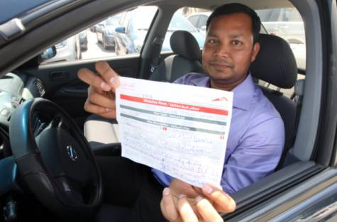 Samson Fernandez charged by RTA for illegal passenger transfer