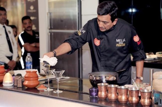 chef sanjeev kapoor at burjuman world food fest