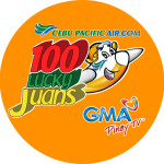 100 Lucky Juans Cebu Pacific GMA