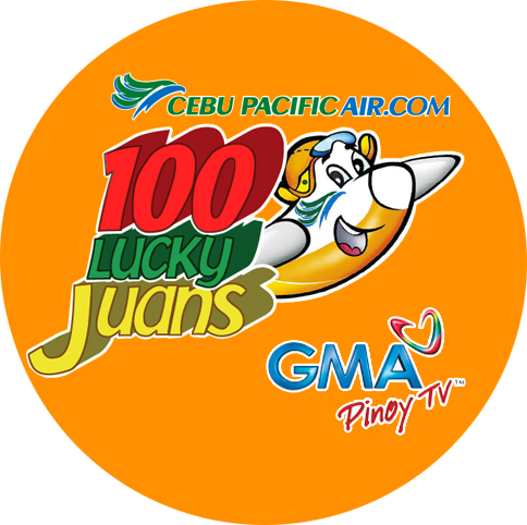 100 Lucky Juans Cebu Pacific GMA