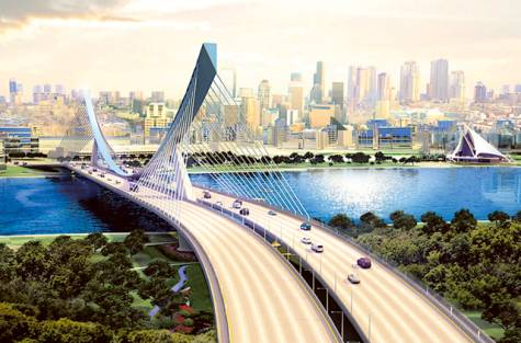 Al Ittihad Bridge to replace Floating Bridge Dubai