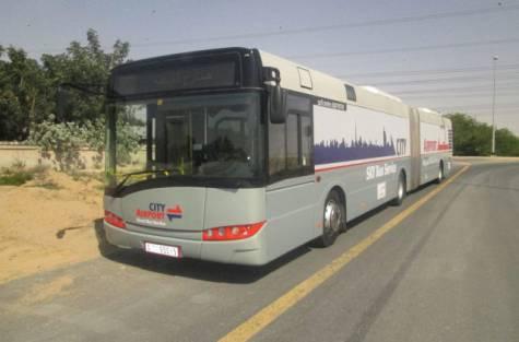 Sky Bus Service Dubai