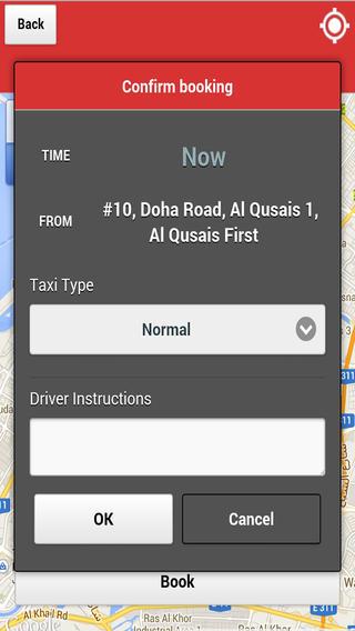 RTA Smart Taxi app