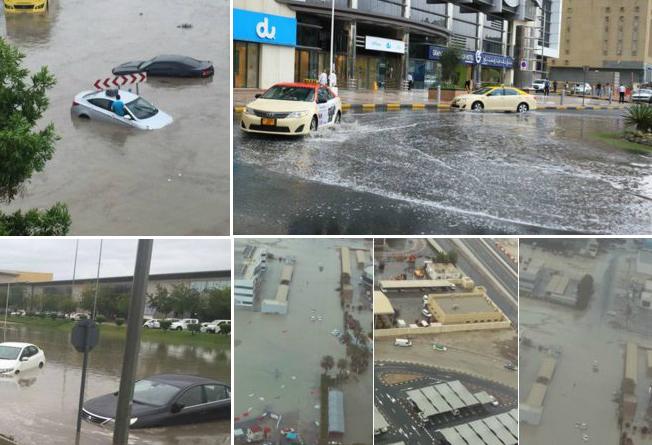 Dubai Rain Pictures
