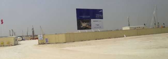dubai metro expo 2020 station site
