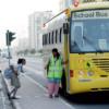dubai school bus dubai school bus school zone