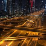 sheikh zayed road dubai coronavirus lockdown