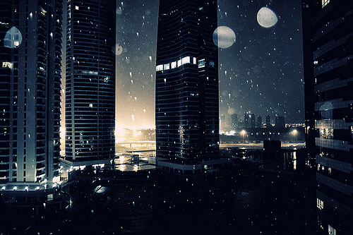 rain in Dubai JLT