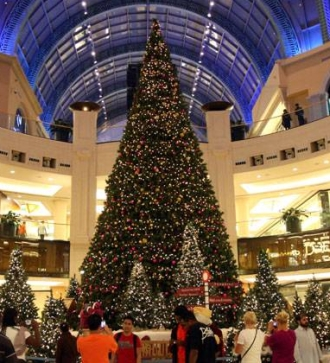 The Mall of Emirates Christmas Tree