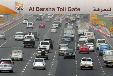 New Salik Toll Gates in Dubai