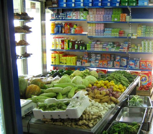 Retail grocery outlet in UAE