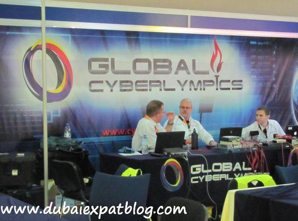 cyber olympics GITEX 2011 Dubai
