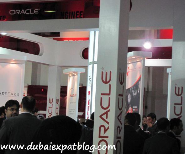 oracle at Gitex 2011