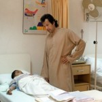 Imran Khan at Shaukat Khanum Cancer Hospital