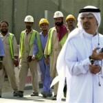 Dubai labor working in summer