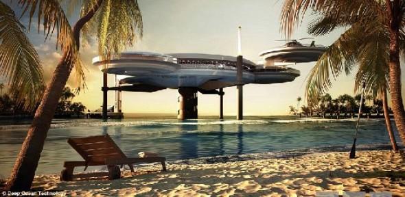 World Discus Hotel - Dubai Underwater Hotel