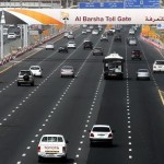 Taxi Commuters in Dubai have to pay Salik toll tax from 2013