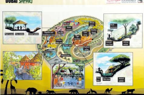 Dubai Safari Map