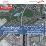 Dubai Trade Centre bus stop moved to Al Jaffiliya