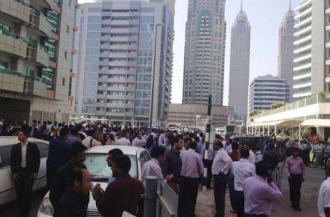 Dubai Earthquake