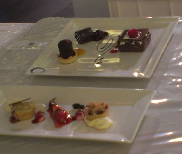 bite sized desserts