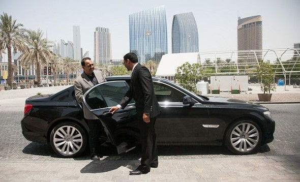 Uber in Dubai