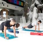 Ski Dubai now offers monthly Snow Aerobics fat burning boot camp